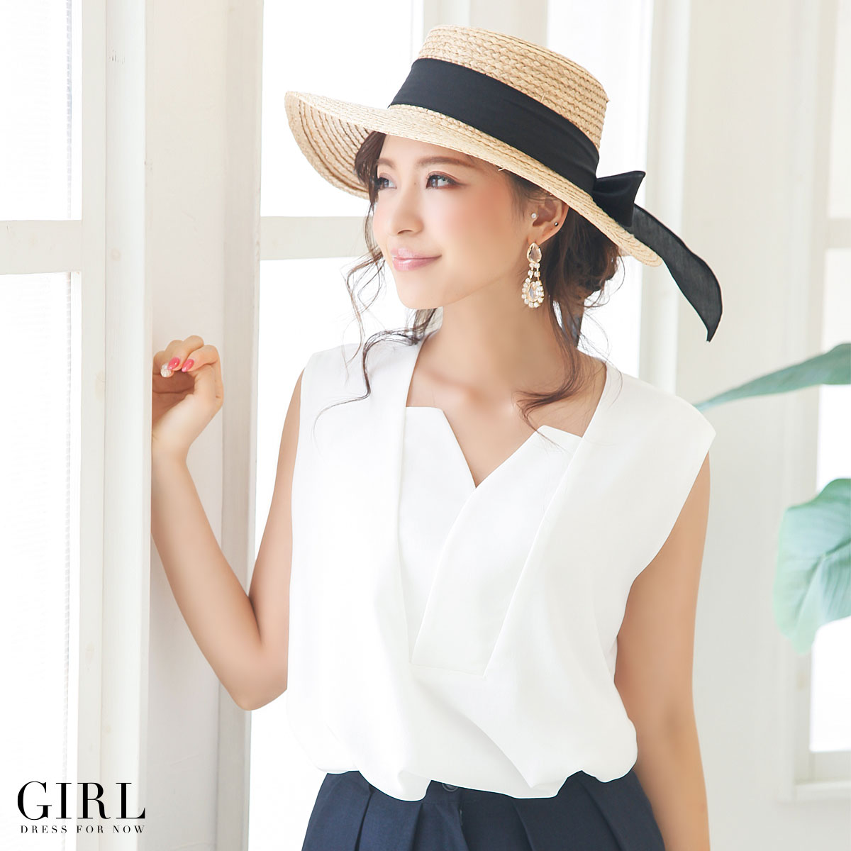 Straw Hat ·   Straw Hat ·   Hat ·   Women s ·  UV measures ·   UVA UVB  protection ·   The girly ·   Feminine ·   Natural ·   Casual ·   Resort bd0f498cb4f