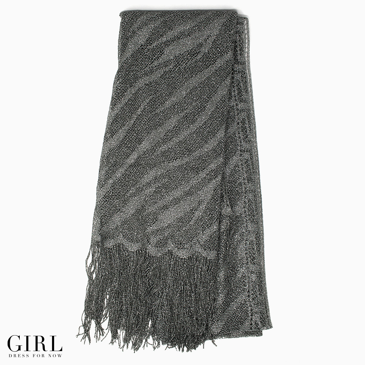 The shawl of the simple design. An animal pattern of the zebra pattern ♪ fashion is ☆ stall for the zebra queen genuine with a sexy shawl★