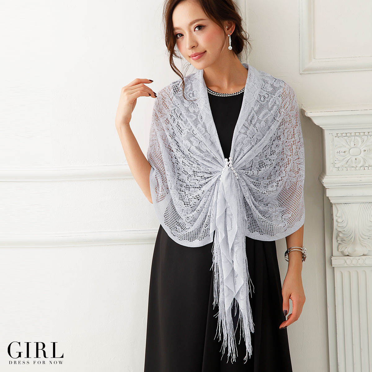 Dress shop GIRL | Rakuten Global Market: Shawls stoles wedding ...