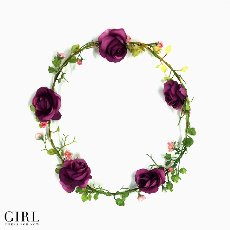 Dress Shop Girl Heroine For Rose Crown Hair Accessories Wedding