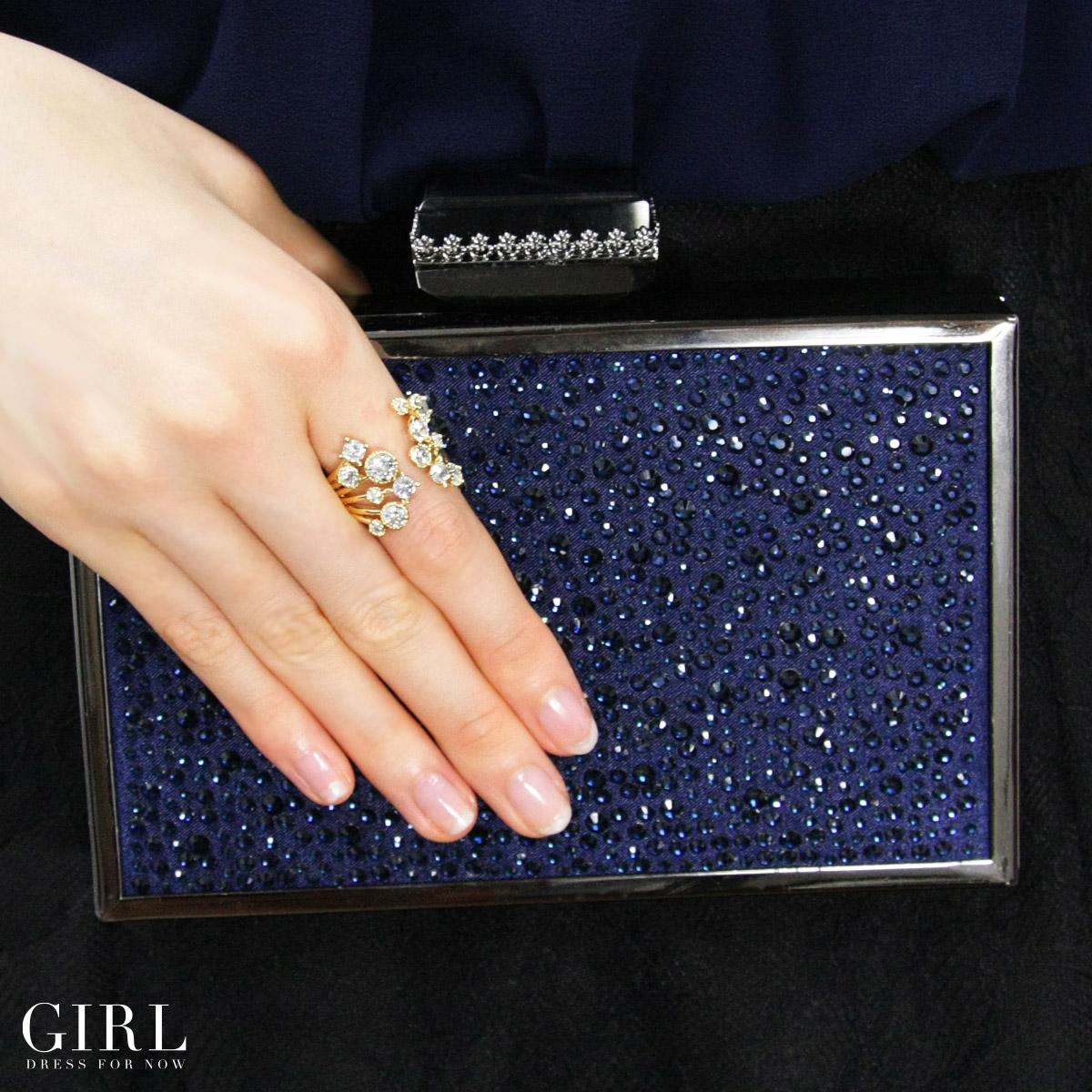 Dress shop GIRL | Rakuten Global Market: Rhinestone ring ring ...