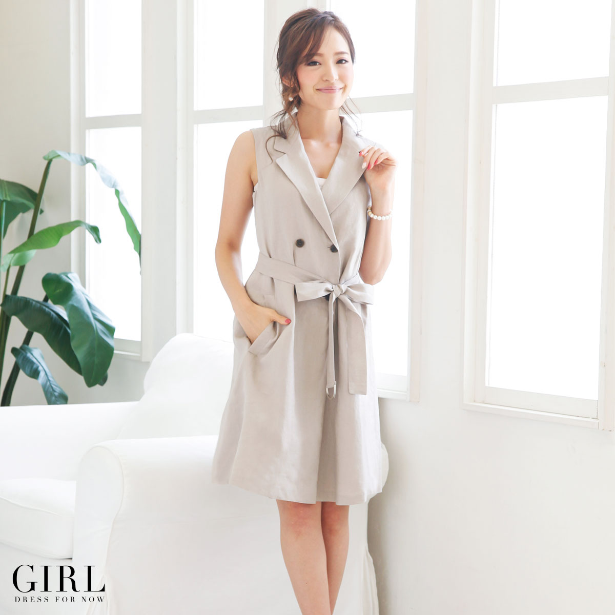 Dress shop GIRL | Rakuten Global Market: One piece wind jacket ...