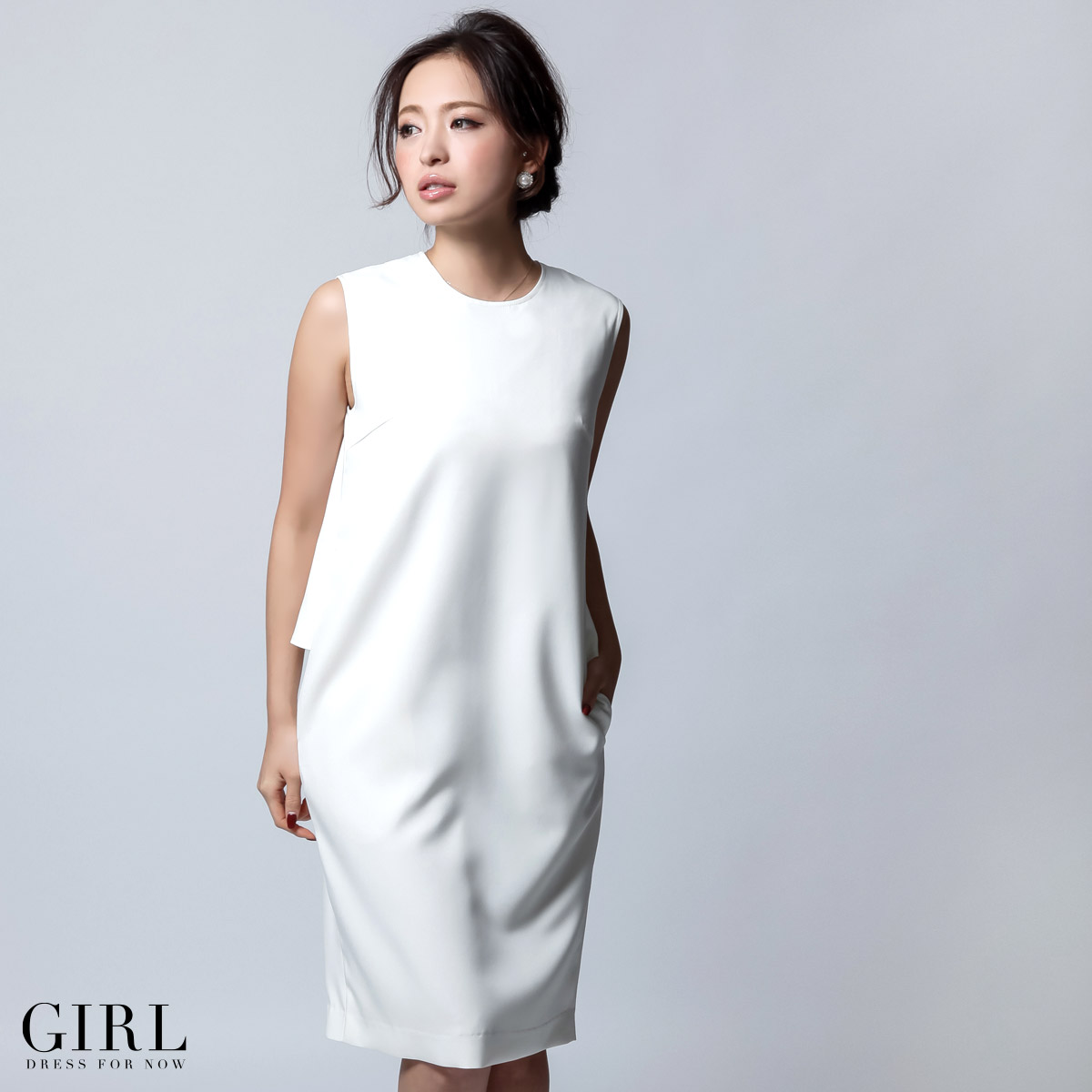 Dress shop GIRL | Rakuten Global Market: Simple medium party dress ...