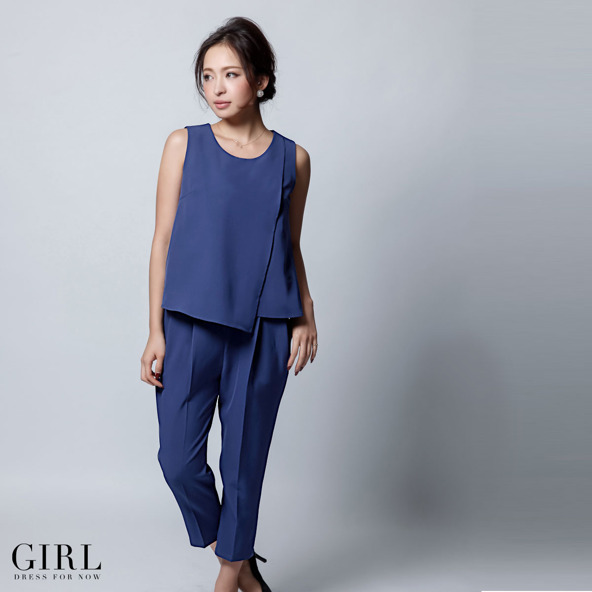 Dress shop GIRL | Rakuten Global Market: Asymmetric pants dress all ...