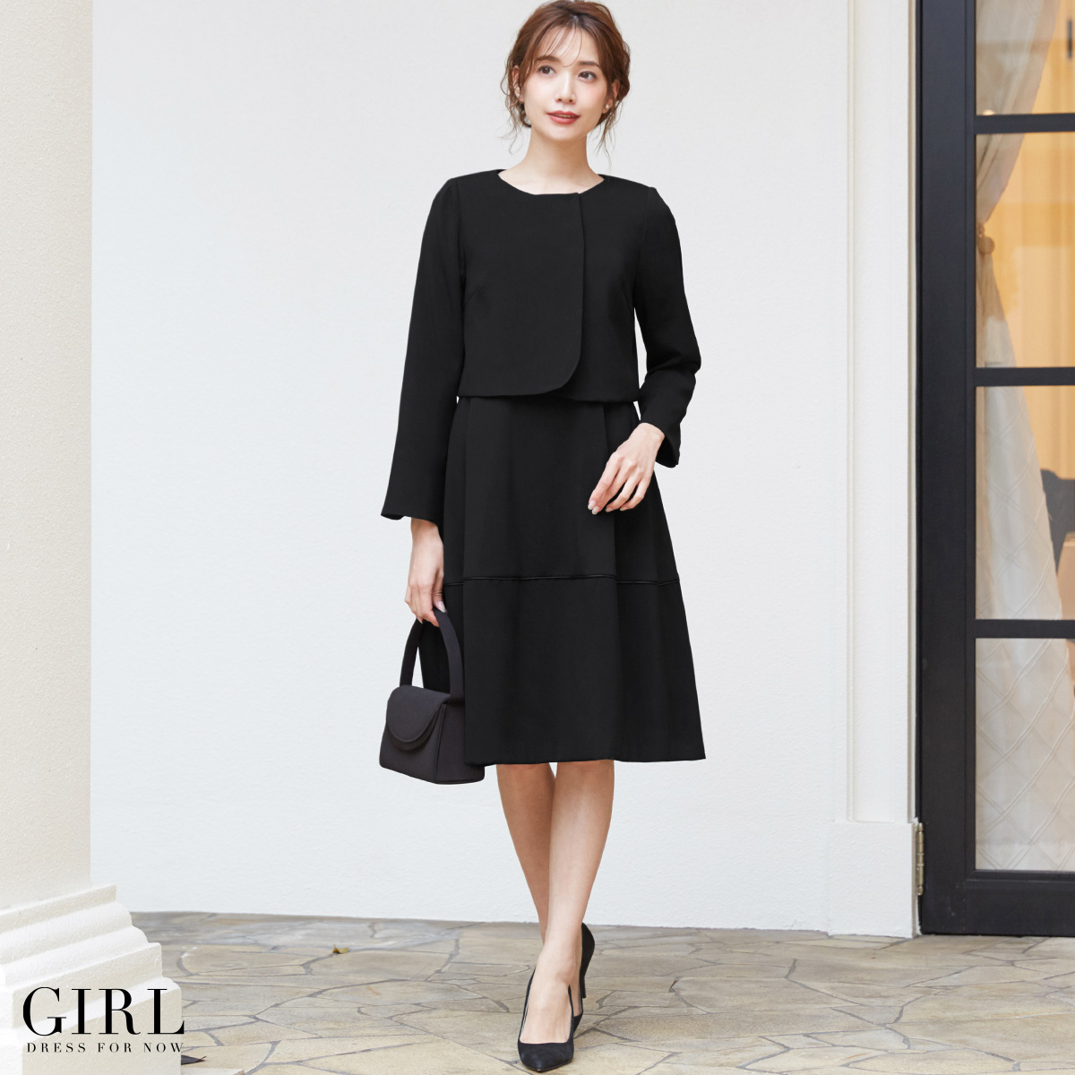 a0aefa99a4c It is fall and winter in dress wedding ceremony dress invite party dress  suit Lady s formal suit suit set big size black formal graduation ceremony  entrance ...