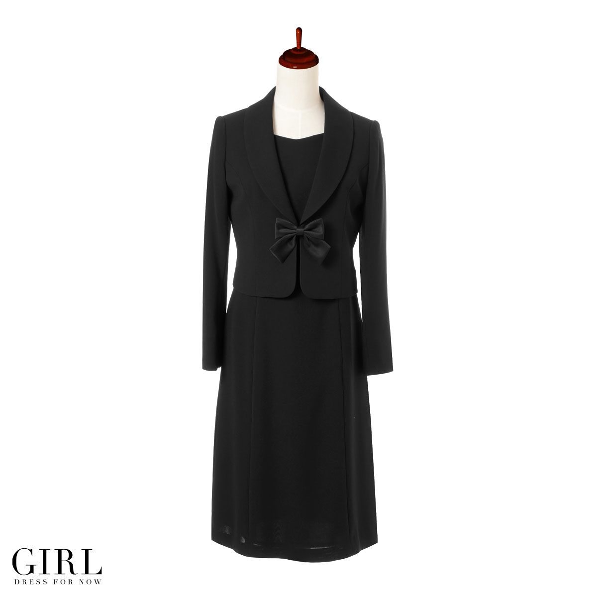 Formalwear suits set condolatory event suit suit set formalwear prom  dresses store otonagirl (otonaGIRL) Buddhist funeral dress jacket tailored