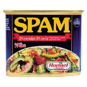 沖縄ホーメル うす塩スパム(SPAM)・ポークランチョンミート 12缶