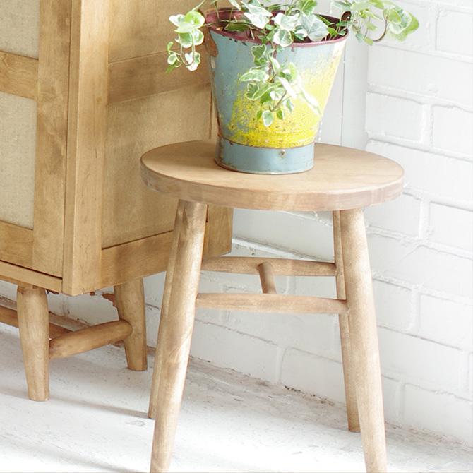 nora. ノラ and g(アンジー) ellis(エリス) スツール スツール 板座 北欧 木製 椅子 チェア サイドテーブル シンプル ナチュラル おしゃれ