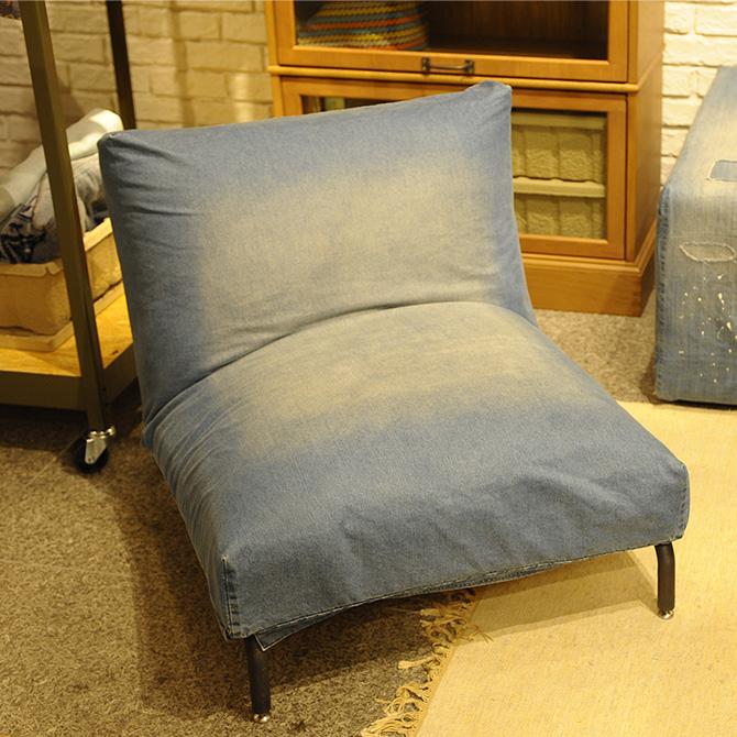 journal standard Furniture ジャーナルスタンダードファニチャー RODEZ 1人掛けソファ デニム ジャーナルスタンダード 家具 デニムソファ 1人掛け ソファー ソファ デニム リクライニング おしゃれ ビンテージ