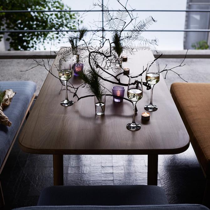 SIEVE ダイニングテーブル 木製 無垢 SIEVE シーヴ fluff フラッフダイニングテーブル Mサイズ 無垢 木製 テーブル リビング 北欧 ダイニング 食卓 食堂 4人 幅140