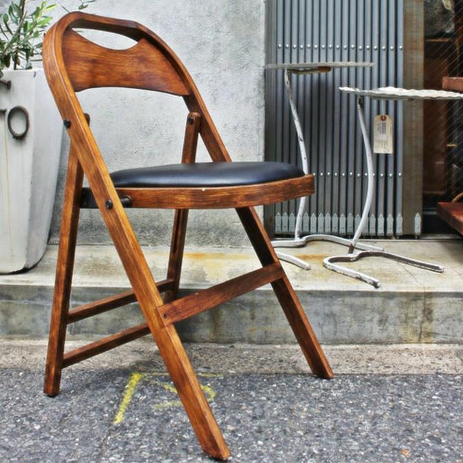 ACME Furniture アクメファニチャー CULVER チェア チェア 木製 折りたたみ フォールディング おしゃれ ビンテージ ヴィンテージ ダイニング 家具 インダストリアル