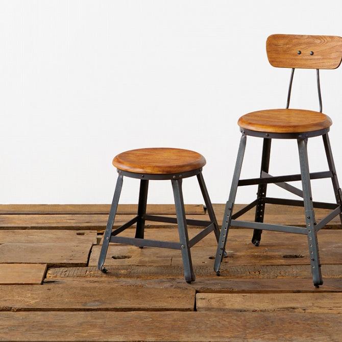 ACME Furniture アクメファニチャー GRANDVIEW ロースツール スツール ダイニング アイアン おしゃれ ヴィンテージ アメリカン 家具 椅子 ビンテージ インダストリアル