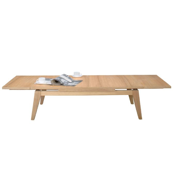 [1000円OFFクーポン配布中] コパン エクステンションセンターテーブル 幅120cm 伸長式テーブル 伸長テーブル 伸縮テーブル ローテーブル 幅120cm 幅150cm 幅180cm リビングテーブル コーヒーテーブル おしゃれ ナチュラル ブラウン