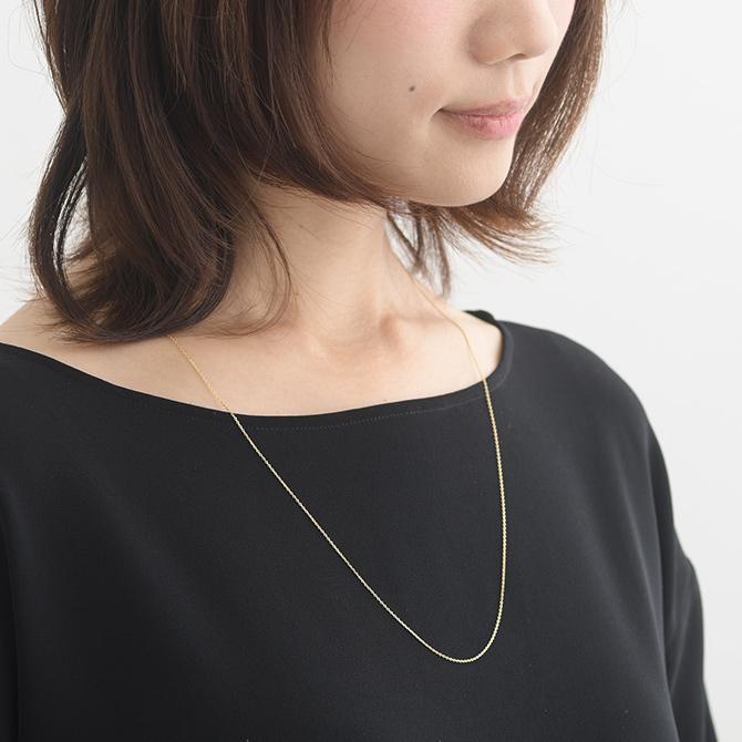 K18 ネックレス chain60 ネックレス チェーン K18 金18 60cm