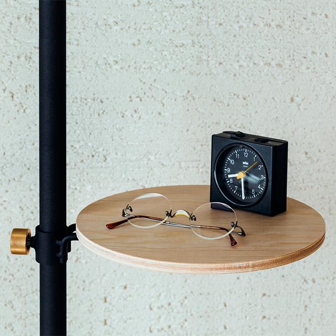 ブラック欠品中 [クーポン対象外] DRAW A LINE ドローアライン ロッドC+テーブルA セット 突っ張り棒 つっぱり棒 おしゃれ セット 伸縮 ソファ横 ベッド横 北欧 インダストリアル インテリア