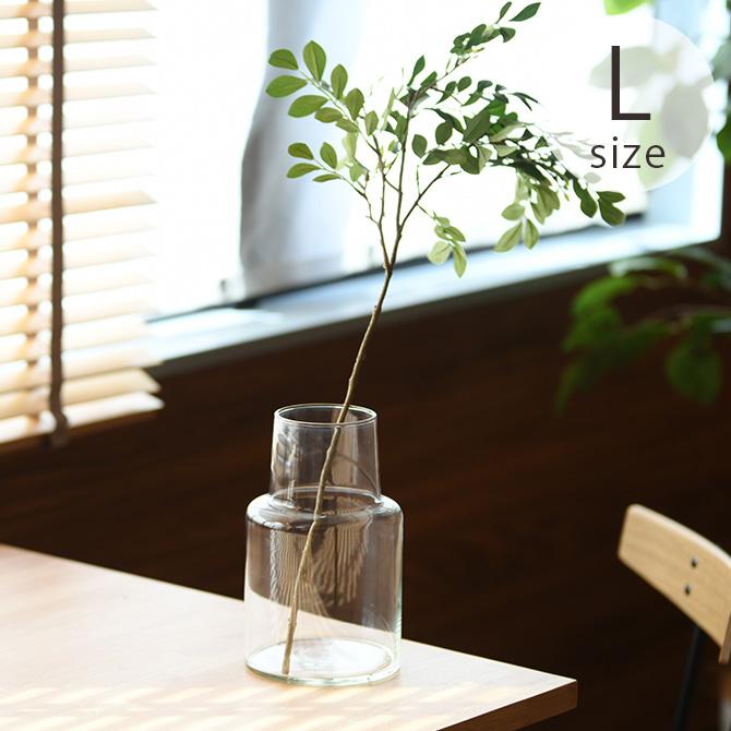 <title>リサイクルガラスのシンプルでおしゃれなフラワーベース ストア Horn Please ホーン プリーズ リューズガラス フラワーベース ロケート L ラッピング対応 花瓶 ガラス シンプル おしゃれ 透明 グラス ベース 北欧</title>