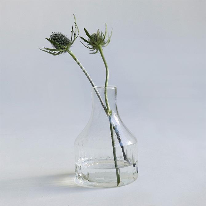 <title>リサイクルガラスのシンプルでおしゃれなフラワーベース Horn Please ホーン プリーズ リューズガラス クーレライン フラワーベース ソラス ラッピング対応 花瓶 ガラス 通常便なら送料無料 シンプル おしゃれ 透明 グラス ベース 北欧</title>