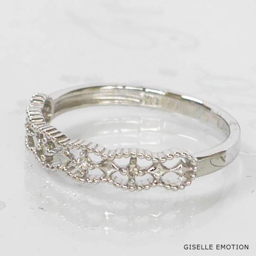 【半額!スーパーセール】ピンキーリング 3号~7号 『K10ピンキーリング』ダイヤモンド|華奢ピンキーリング|重ね付けピンキーリング|ファランジリング|プレゼントピンキーリング|おしゃれピンキーリング|指輪|結婚記念日|誕生日|プレゼント|妻|彼女
