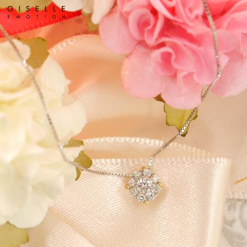 【送料無料】『ダイヤモンド0.18カラット プラチナネックレス』 ネックレス|レディース|PT900|K18|ゴールド|一粒ダイヤ|コンビ|おしゃれ|人気|妻|ギフト|彼女|誕生日プレゼント|女性|結婚記念日|クリスマス|ホワイトデー|母の日