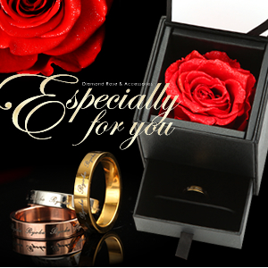 【送料無料】名前が入れられる 『ネームリング』 刻印無料|指輪|リング|サージカルステンレス|ステンレス|ゴールド|シルバー|アレルギーフリー|アレルギー対応|プリザーブドフラワー|花|薔薇|バラ|レディース|ギフト|彼女|誕生日プレゼント