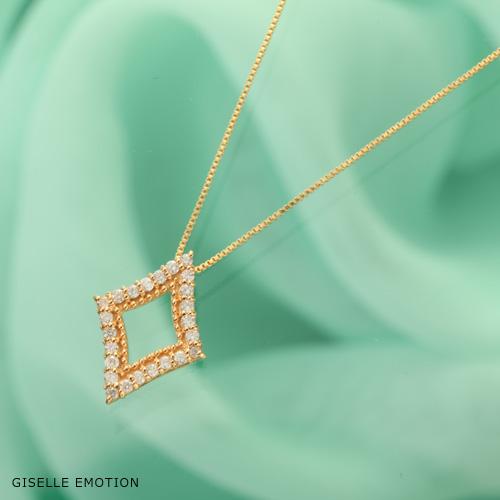【半額!スーパーセール】天然ダイヤモンド ダイヤモンドシェイプ ネックレス 天然ダイヤモンドローズDiamond rose|ジュエリー|母の日|ギフト|プレゼント|彼女|女性