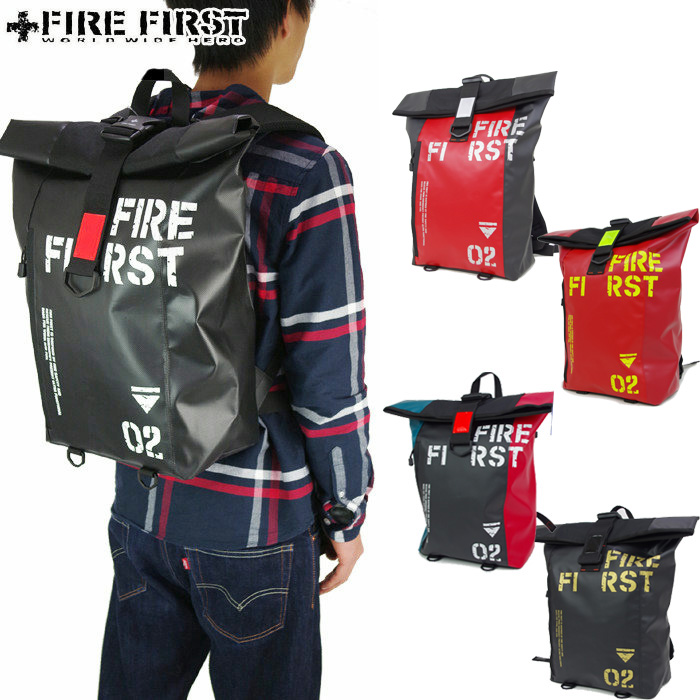 Day pack rucksack backpack fire first FIRE FIRST 9170 men's bag