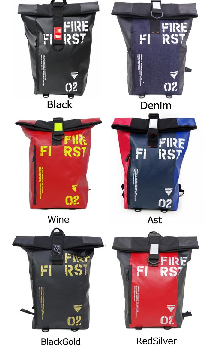优良的防火第一吕克消防第一背包 9170 男士背包折叠背包男士包自行车高中上下班通勤休闲旅游的防水和耐沾污篷布料口