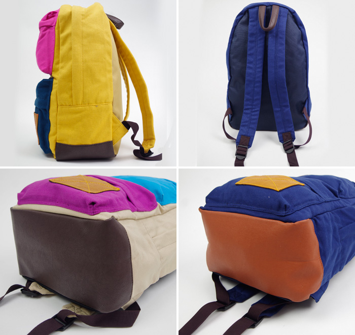 Rucksack school daypack Japanese-Propellerhead, propellerheads Campus double pocket for getting on the go Backpack Backpack day back men's women's commute commuting leisure travel