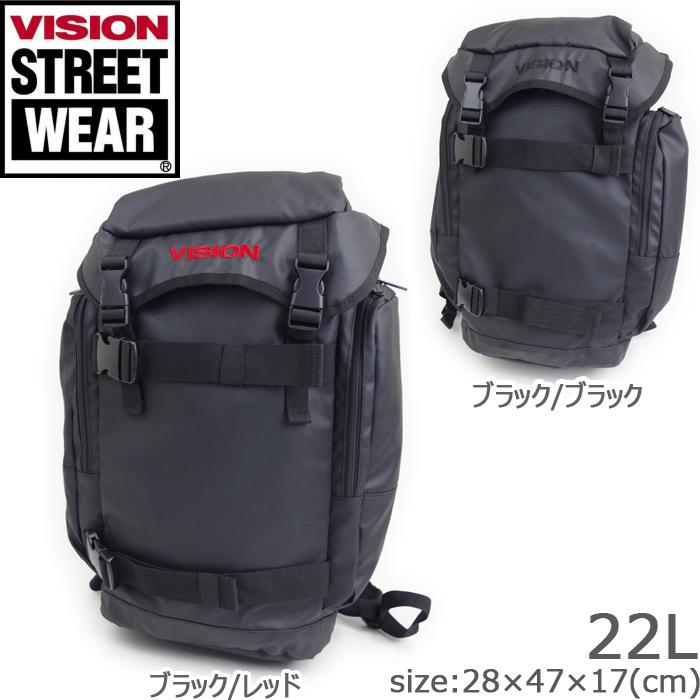vision street wear リュック 大容量 メンズ ヴィジョン ストリート ウエア 9168 リュックサック バックパック 通学 通勤 送料無料