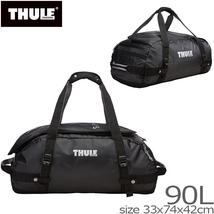 2WAY ボストンバッグ 大容量 スーリー THULE TCHS-L Chasm Lサイズ 90L リュック バックパック ロールボストン ショルダーバッグ トラベルバッグ かばん リュックサック 送料無料