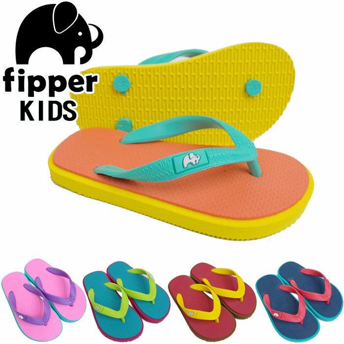 6052f4645874 zakka green  Of the beach sandal kids Fipper sandals KIDS child  フィッパービーサンキッズモデル natural rubber best wear it