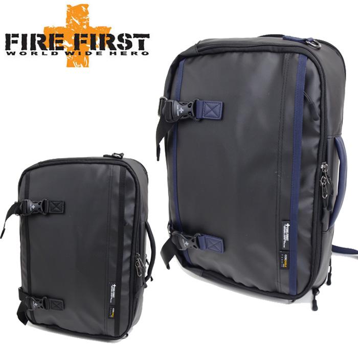 ファイヤーファースト FIRE FIRST 2WAY リュック ショルダーバッグ メンズ レディース BK/NV FFF360 デイパック バックパック リュックサック 通学 通勤 送料無料