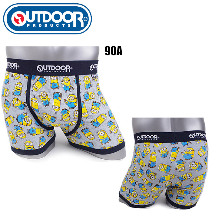 Underwear Boxer Outdoor Products Minion Pattern M L LL AC8011B122 90A Man Boyfriend Birthday Gift Present