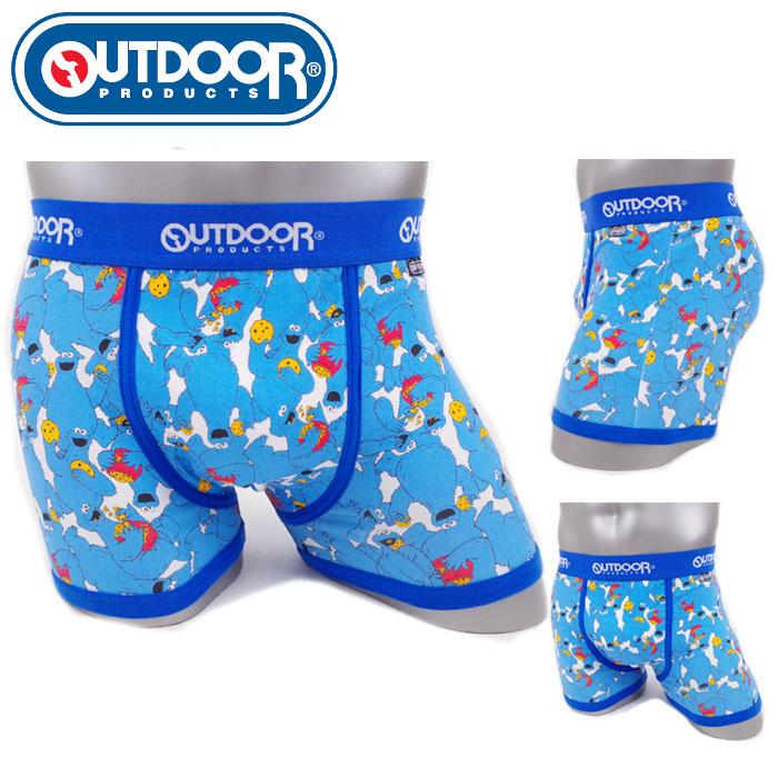 Boxer Underwear Outdoor Products Sesame Street Cookie Monster M L LL AC8011B126 90A Man Boyfriend Birthday Gift Present