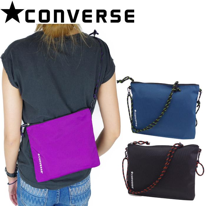 220f449db1 Take CONVERSE/ コンバースサコッシュバッグ slant; all bag folding shoulder bag PACKABLE  SACOCHE men ...