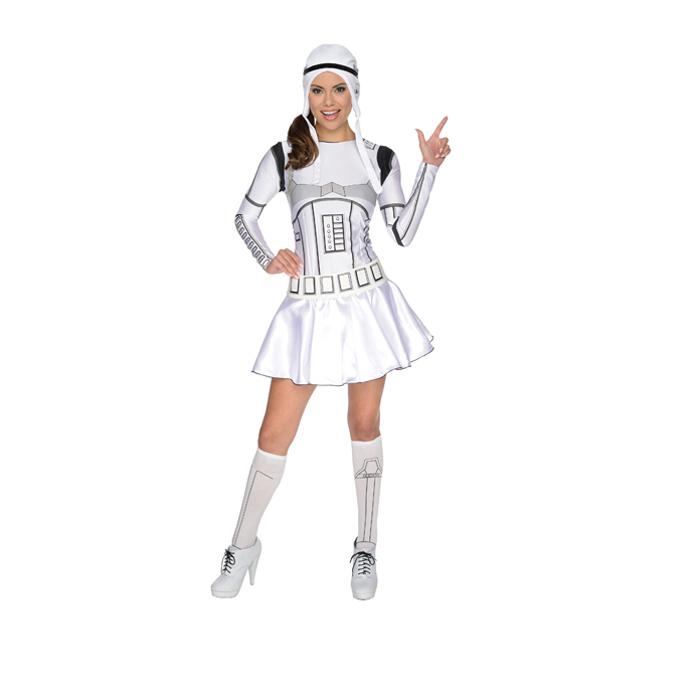 ハロウィン 仮装 大人 コスチューム メンズスターウォーズ star wars Female Storm Trooper ストーム トルーパー フィメイル 衣装 コスプレ イベント halloween 宴会 あす楽