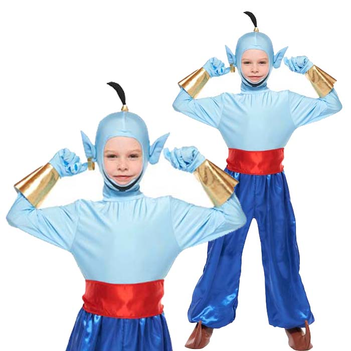 Halloween costumes child Disney costume cosplay costume Genie Aladdin party Disneyland Halloween girl boy event Halloween halloween  sc 1 st  Rakuten & zakka green | Rakuten Global Market: Halloween costumes child Disney ...