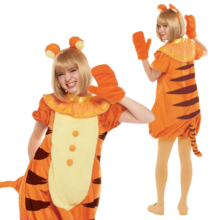 halloween costume adult disney temporary instrumentation costume ladies adult tigger party disneyland halloween events halloween halloween