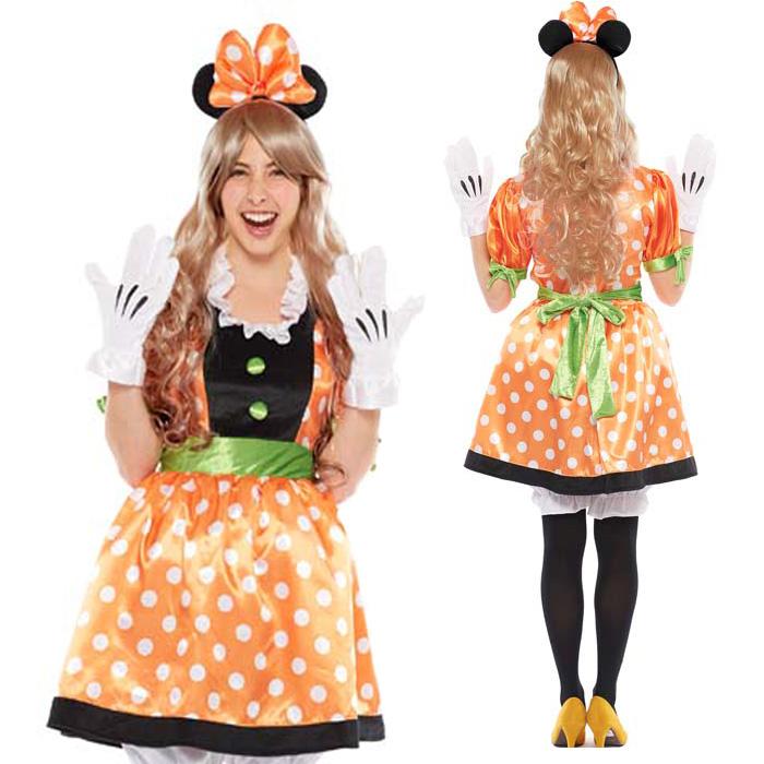 halloween costume adult disney temporary instrumentation costume ladies adult pumpkin mini party disneyland halloween events halloween halloween