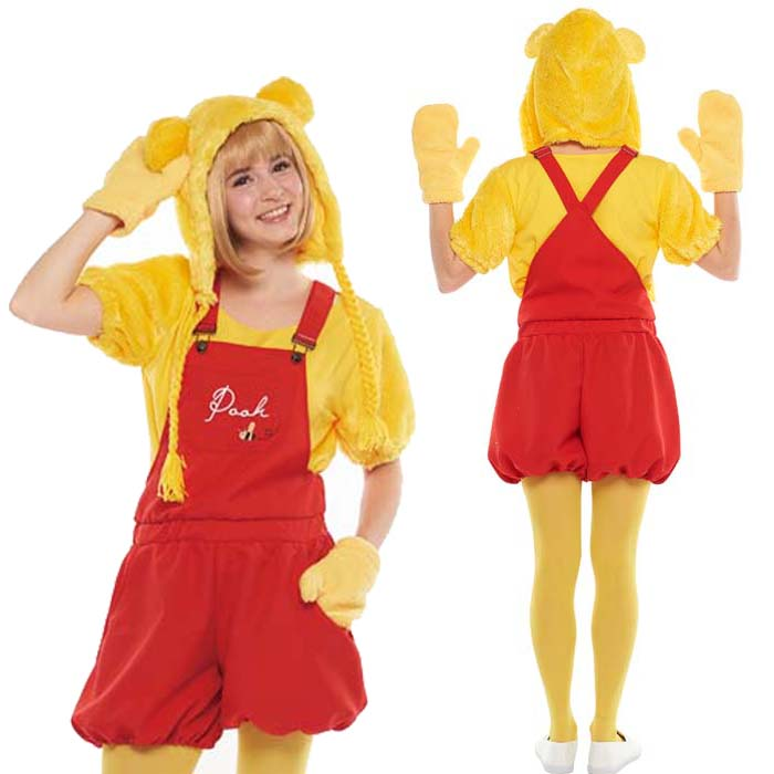 754c42c4f841 Halloween Costume Adult Disney Temporary Instrumentation Costume Ladies  Adult Casual Winnie The Pooh Party Disneyland Halloween Events Halloween  Halloween ...