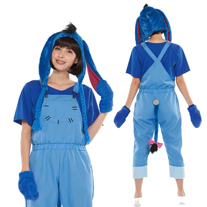 Halloween Costume Adult Disney temporary instrumentation costume ladies adult casual Eeyore party Disneyland Halloween events Halloween halloween  sc 1 st  Rakuten & zakka green | Rakuten Global Market: Halloween Costume Adult Disney ...