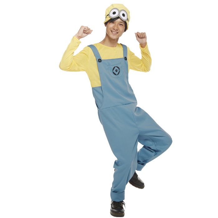 Halloween costume play clothes character adult minion men Adult Minions for Men Costume 95925 costume Halloween party harrow in event Halloween  sc 1 st  Rakuten & zakka green | Rakuten Global Market: Halloween costume play clothes ...