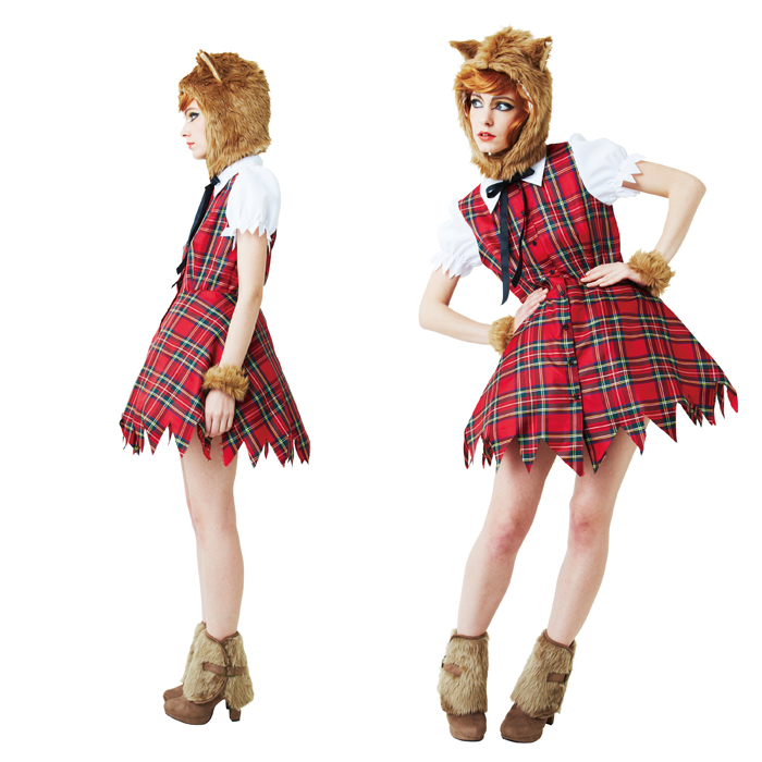... Wolf Girl Character Costume Play Harrow In. Z Green Rakuten Global Market Disguise Clothes  sc 1 st  Hallowen Costum Udaf & halloween costumes wolf girl - Hallowen Costum Udaf