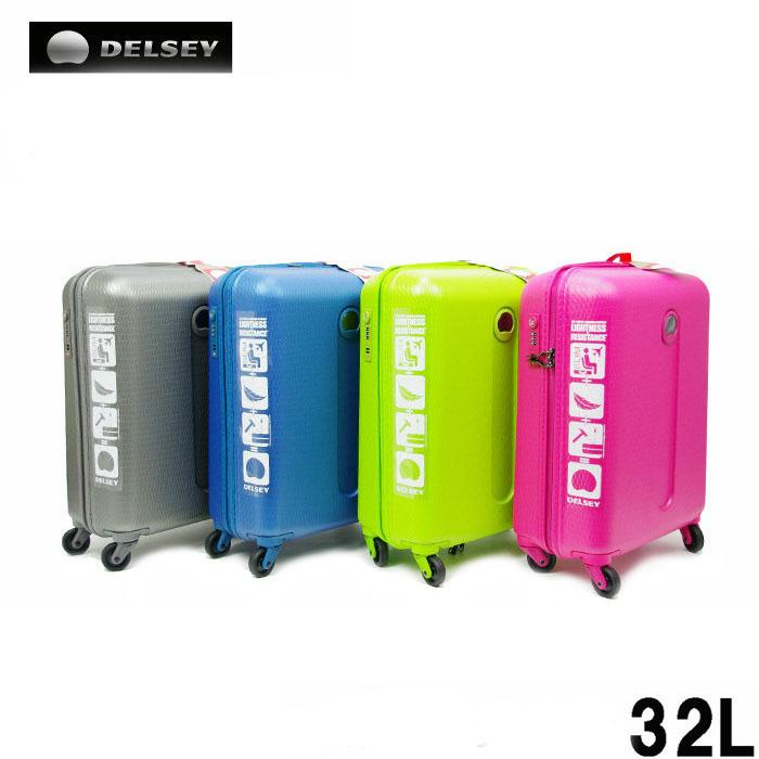 1aa29888343a デルセー DELSEY suitcase DHZ1-49 SUNCO Sanko HELIUM 32L TSA lock