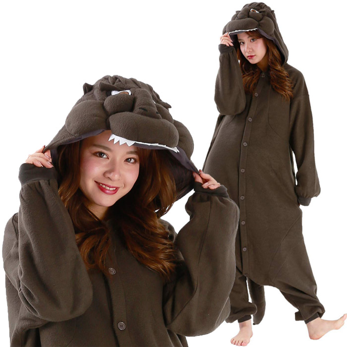 Costume pajamas Heisei Godzilla SAN994 costume-free Susa rucksack clothes  house coat festival harrow in event for adult including the arrival at  Halloween ...