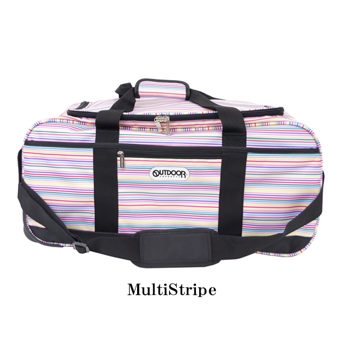6a916541ef61 Outdoor  OUTDOOR products 3way Boston carrier bag light weight men   Lady s software  carry stripe 62L 62411 trip suitcase shoulder bag Boston bag camp ...