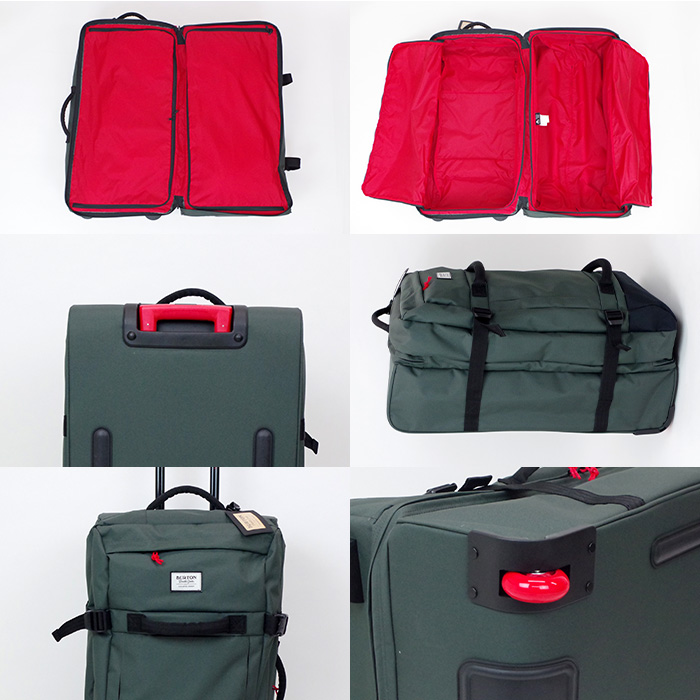 9a8335f650 Tote bag roller bag luggage trip business trip working under all two colors  of BURTON Burton carry case large-capacity EXODUS ROLLER TRAVEL BAG men /  ...