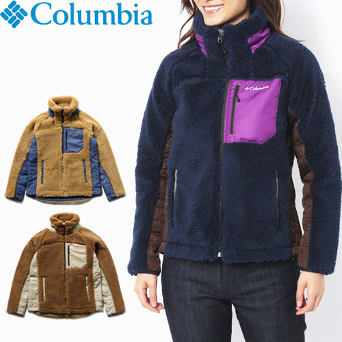 Columbia コロンビア アウター レディース ジャケット フリース マウンテンジャケット マウンテンパーカー ARCHER RIDGE WOMEN'S JACKET 全3色 M/L PL3148 おしゃれ アーチャーリッジ マウンテン ハイク 防寒 もこもこ ブランド 送料無料