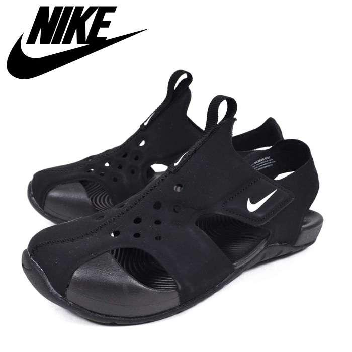 da1ac283a9 Child sea bathing of the NIKE/ Nike sandals kids sun lei protection 2 PS  black ...