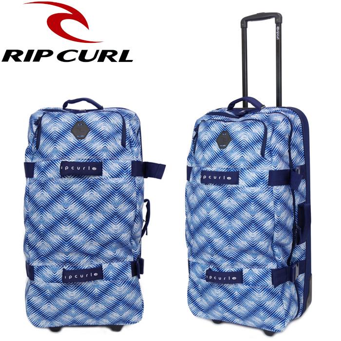 RIPCURL/リップカール キャリーバッグ Lサイズ 大型 100L 大容量 メンズ/レディース キャリーケース スーツケース F-LIGHT GLOBAL LAST LIGHT ブルー U03-950 ビジネス 旅行 サーフ ソフトキャリー 送料無料